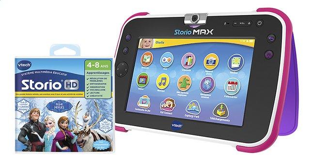 Image pour VTech tablette Storio MAX XL 2.0 rose + La Reine des Neiges à partir de DreamLand