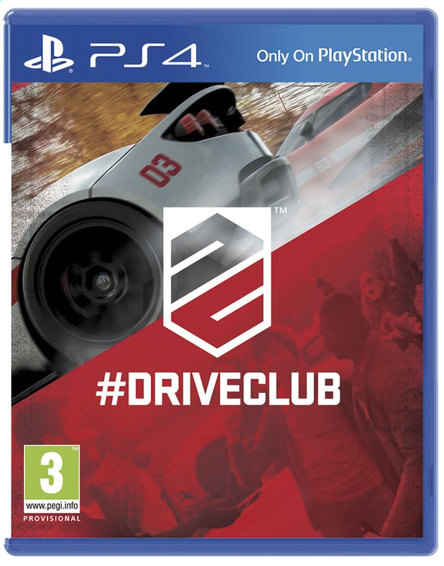 Afbeelding van PS4 Driveclub ENG/FR from DreamLand