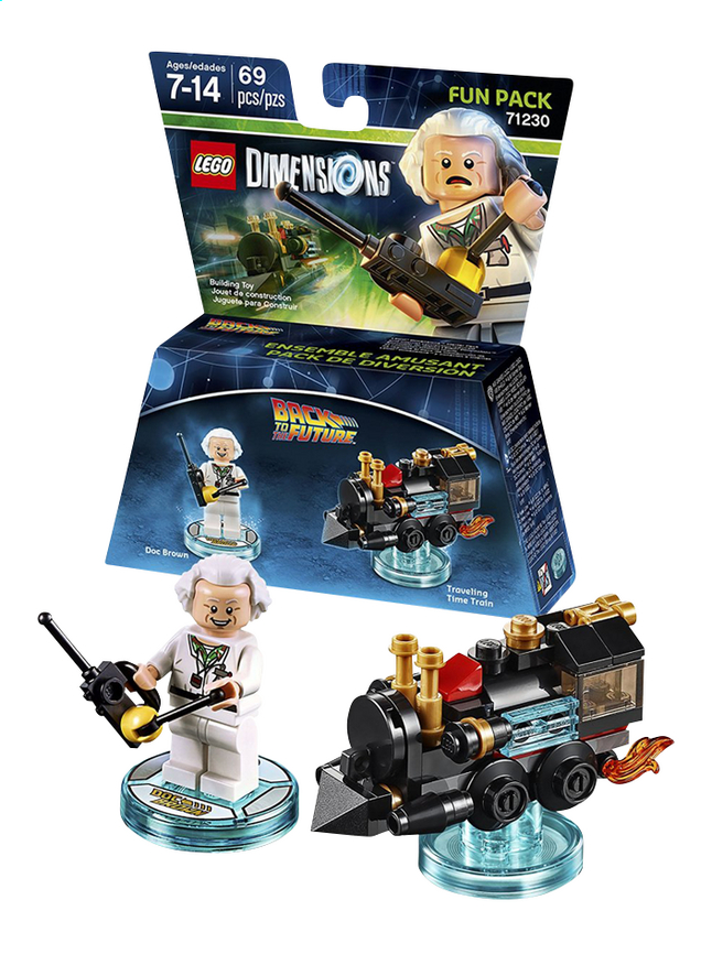 Afbeelding van LEGO Dimensions Figuur Fun Pack Back To The Futur 71230 Doc Brown from DreamLand