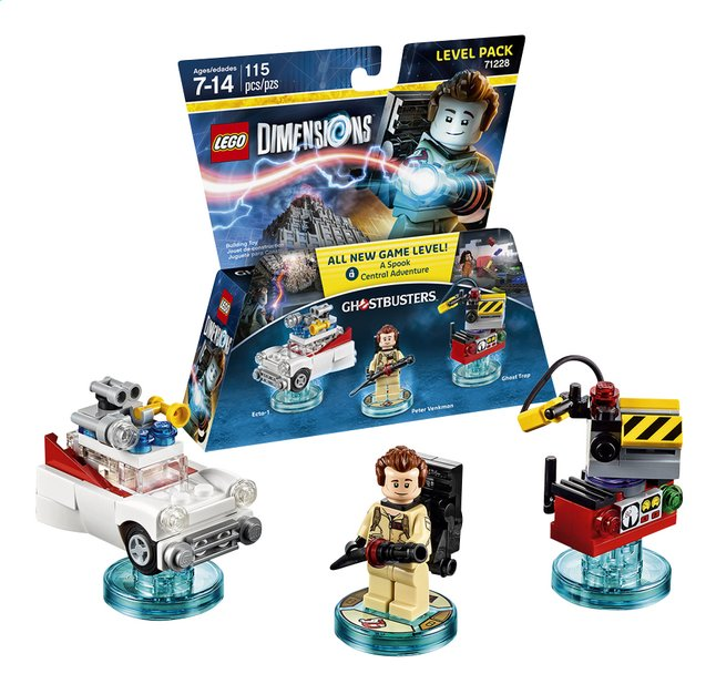 Afbeelding van LEGO Dimensions figuur Level Pack Ghostbuster 71228 Peter Venkman from DreamLand