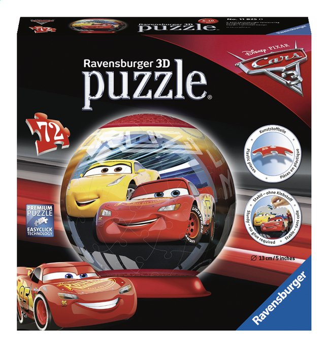 Afbeelding van Ravensburger puzzleball Disney Cars 3 from DreamLand