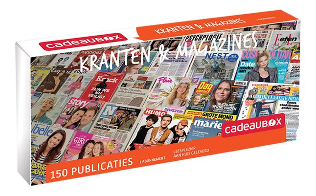 Afbeelding van Cadeaubox Kranten & Magazines from DreamLand