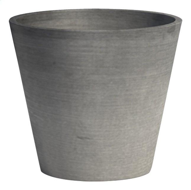 Afbeelding van Ecopot's Ronde bloempot Amsterdam grey diameter 30 cm from DreamLand