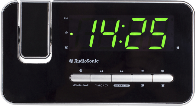 Image pour Audiosonic radio-réveil CL-1492 noir à partir de DreamLand