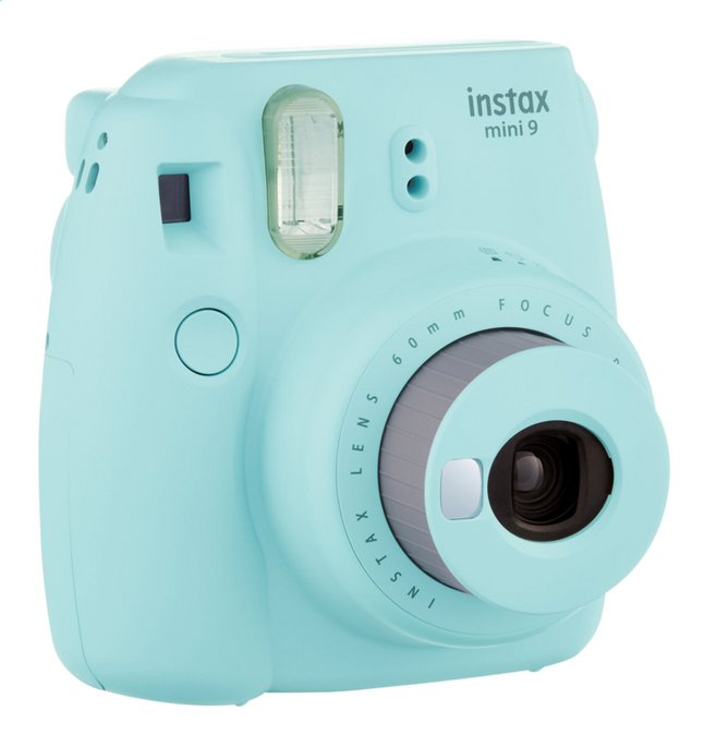 fujifilm appareil photo instax mini 9 ice blue dreamland. Black Bedroom Furniture Sets. Home Design Ideas
