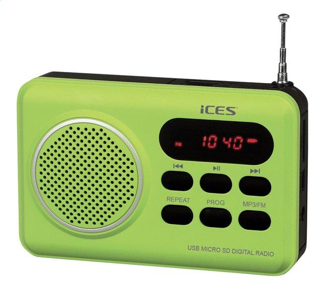 Afbeelding van iCES radio IMPR-112 groen from DreamLand