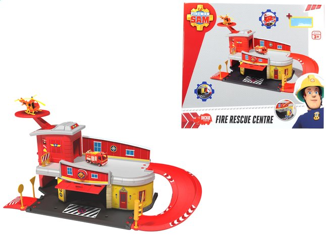 Afbeelding van Dickie Toys set Brandweerman Sam Fire Rescue Centre from DreamLand