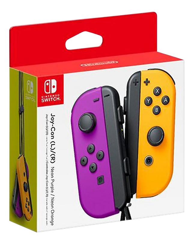 Nintendo Switch Joy-Con pair mauve/orange
