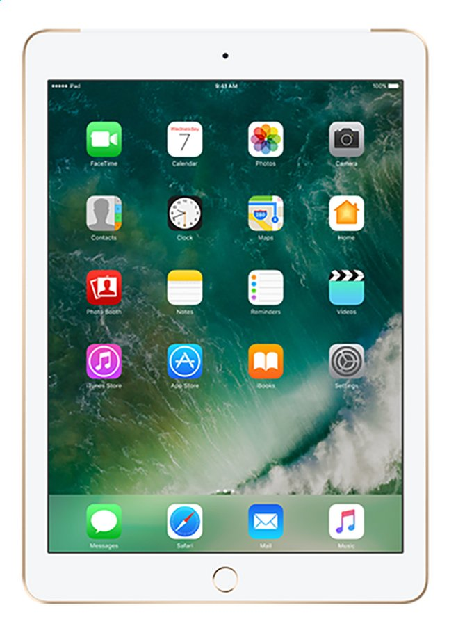 Afbeelding van Apple iPad Wi-Fi + cellular 128 GB goud from DreamLand