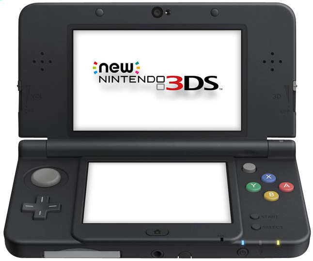 Afbeelding van New Nintendo 3DS console zwart from DreamLand