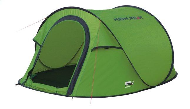 High Peak Tente pop-up Vision 3 green/gris foncé