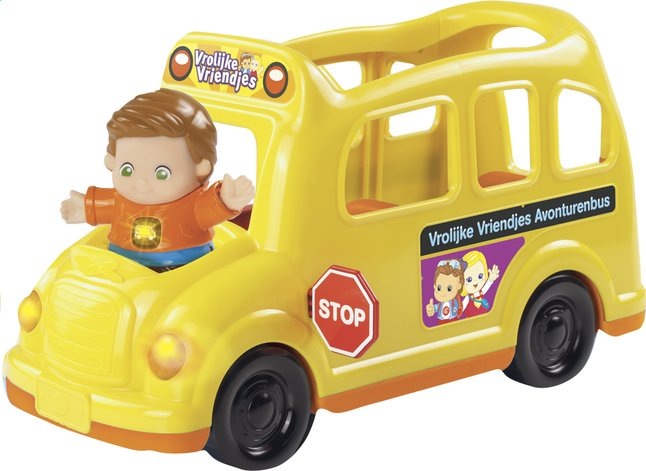Afbeelding van VTech Vrolijke Vriendjes schoolbus from DreamLand