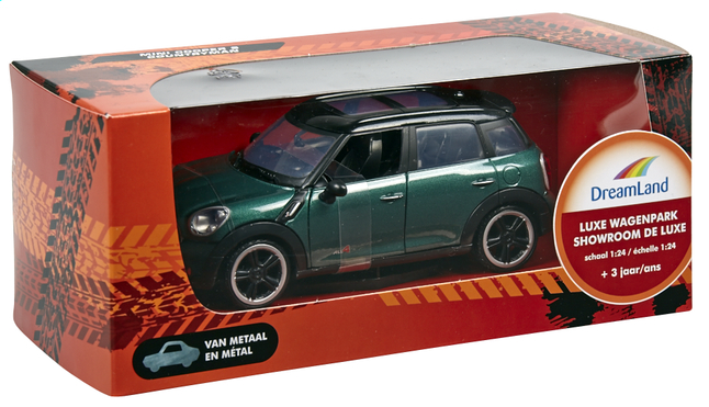 Afbeelding van DreamLand auto Luxe wagenpark Mini Cooper S Countryman groen from DreamLand