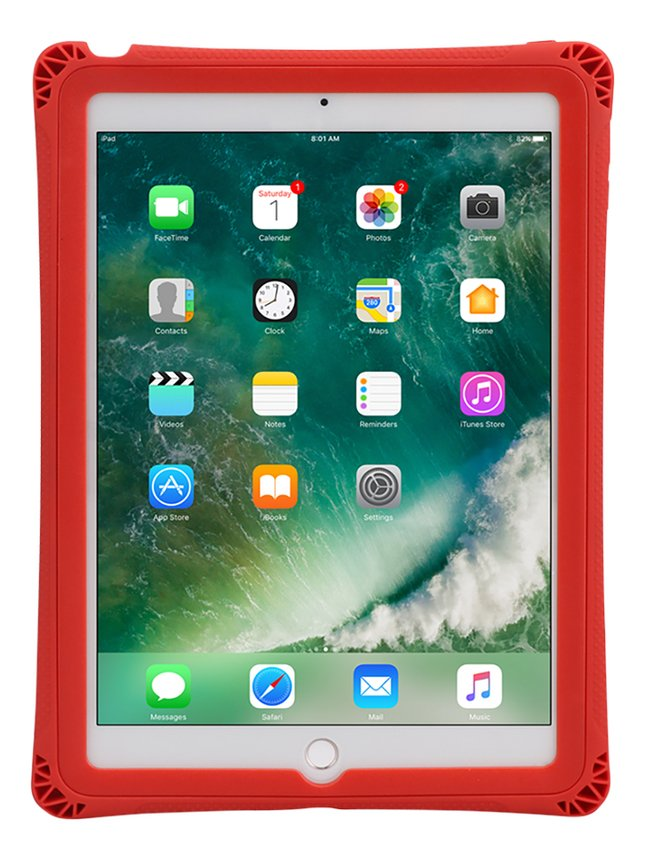 Coque Rugged Case pour iPad 5th/6th Gen rouge