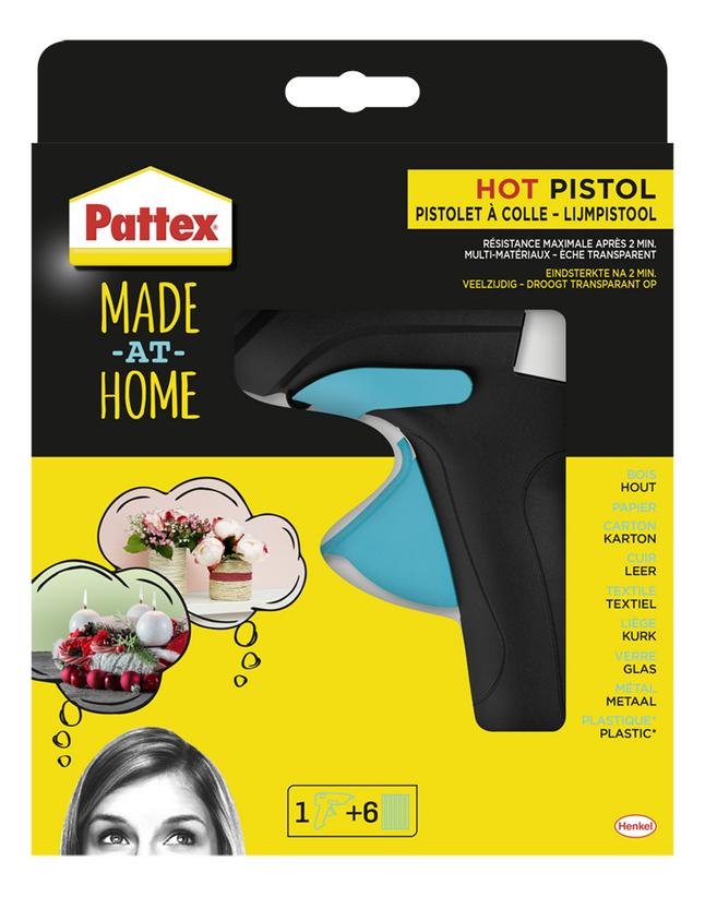 Pattex lijmpistool Made at home