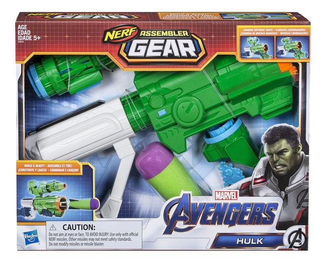 Afbeelding van Nerf blaster Avengers Assembler Gear Hulk from DreamLand
