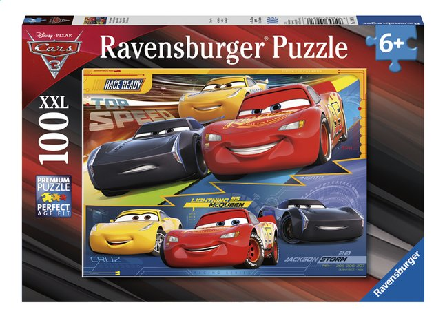 Afbeelding van Ravensburger puzzel Disney Cars 3 XXL from DreamLand