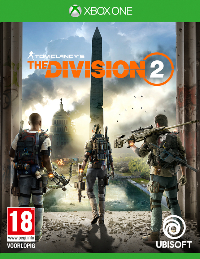 Xbox One Tom Clancy's The Division 2 FR/ANG