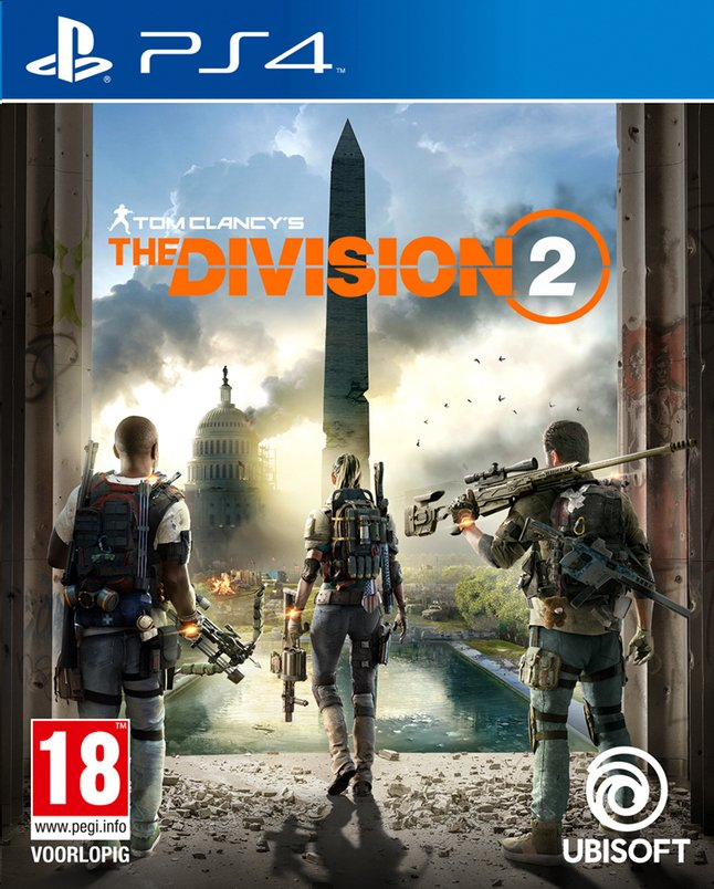 PS4 Tom Clancy's The Division 2 FR/ANG