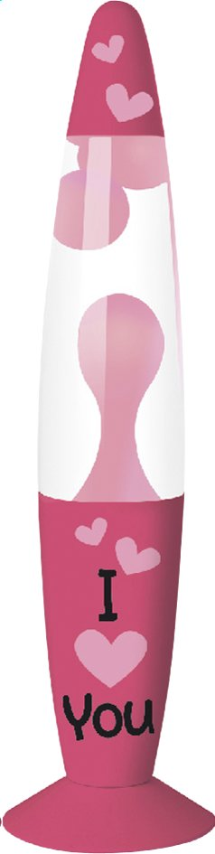 Afbeelding van Lavalamp Kreative I love You from DreamLand