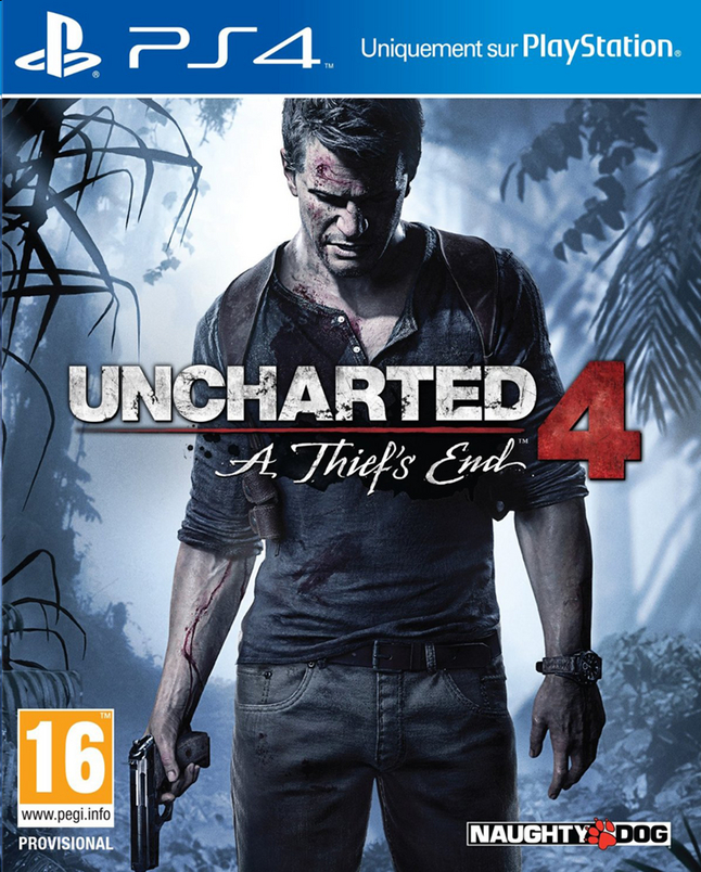 Image pour PS4 Ucharted 4: A Thief's End FR/ANG à partir de DreamLand
