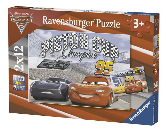Afbeelding van Ravensburger puzzel Disney Cars 3 2-in-1 from DreamLand