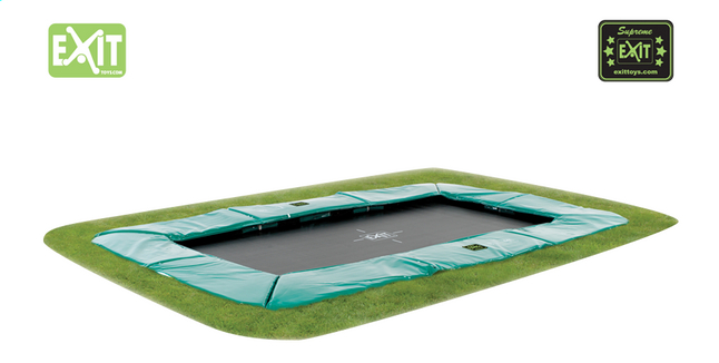 Afbeelding van EXIT inbouwtrampoline Supreme Ground 2,14 x 3,66 m from DreamLand