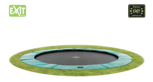 EXIT trampoline enterré Supreme Ground Ø 3,66 m