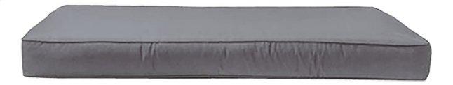 Madison coussin d'assise pour palette Panama 120 x 80 gris