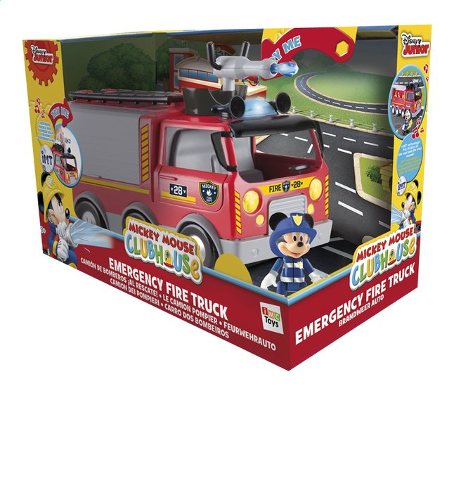 Afbeelding van Speelset Mickey Mouse Clubhouse Emergency Fire truck from DreamLand