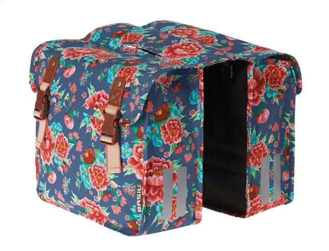 Image pour Basil double sac pour vélo Bloom Indigo Blue à partir de DreamLand