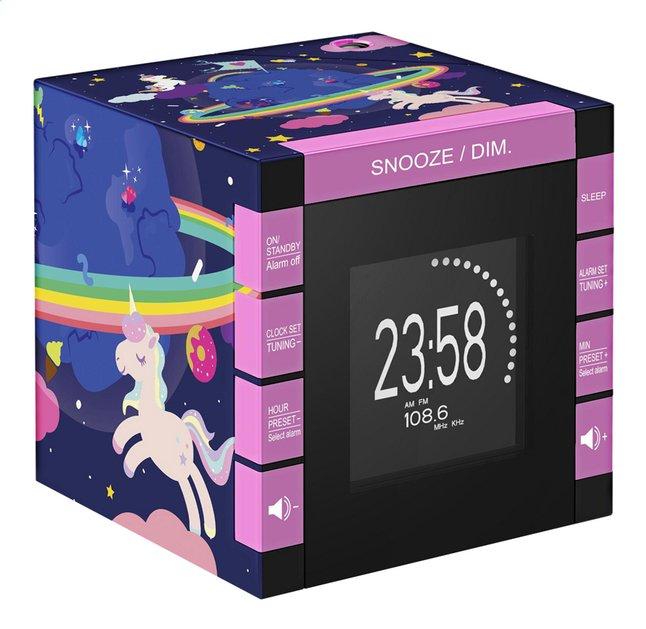 bigben radio-réveil avec projection RR70 Unicorn