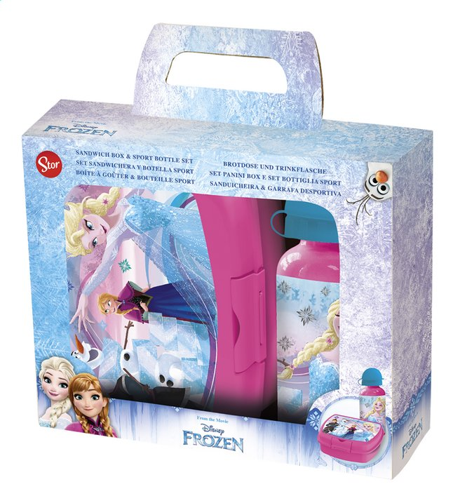 Afbeelding van Brooddoos en drinkfles Disney Frozen from DreamLand