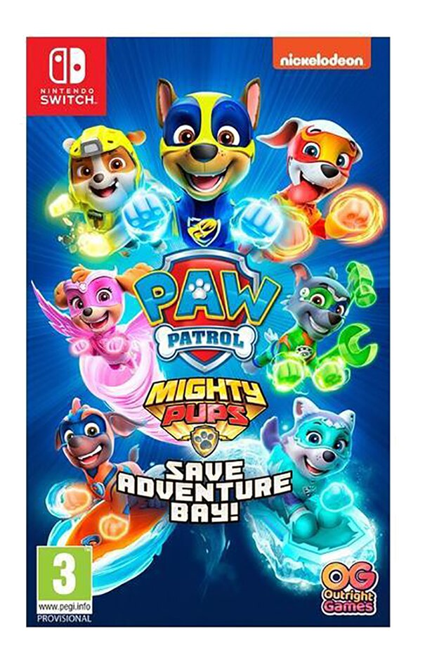 Nintendo Switch Paw Patrol Mighty Pups Save Adventure Bay ENG/FR