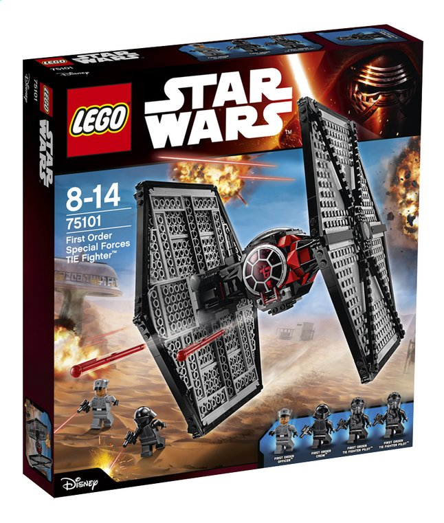 Afbeelding van LEGO Star Wars 75101 First Order Special Forces TIE fighter from DreamLand