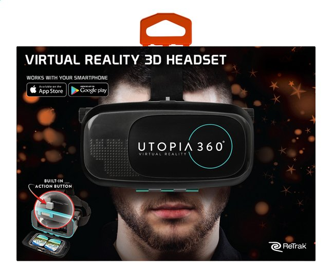 Afbeelding van ReTrak virtual reality headset Utopia 360° ETVRC from DreamLand