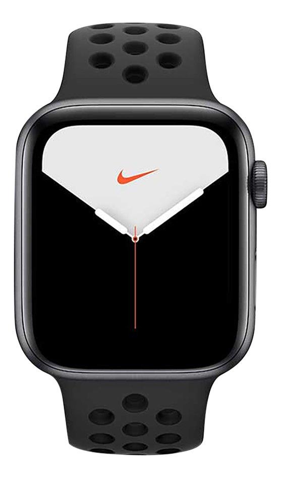 Apple Watch Nike Series 5 40 mm Gris sidéral/noir
