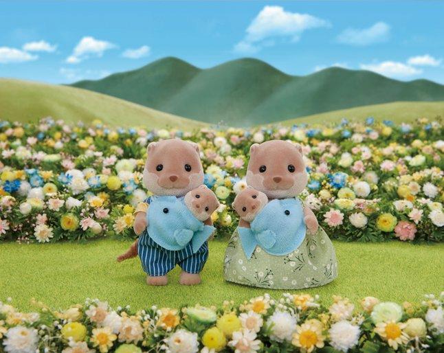 Image pour Sylvanian Families 5359 - La Famille Loutre à partir de DreamLand
