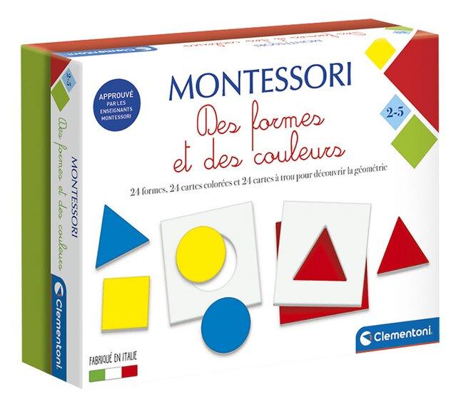 Montessori Des formes et des couleurs