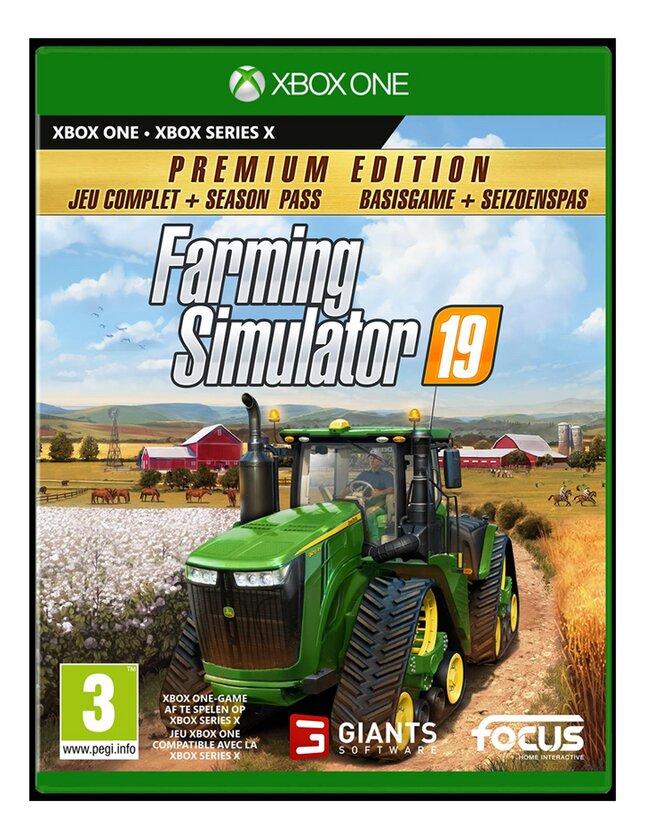 Xbox One Farming Simulator 19 Premium Edition ENG/FR