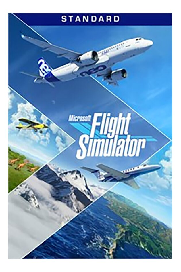 PC Microsoft Flight Simulator Standard NL/FR
