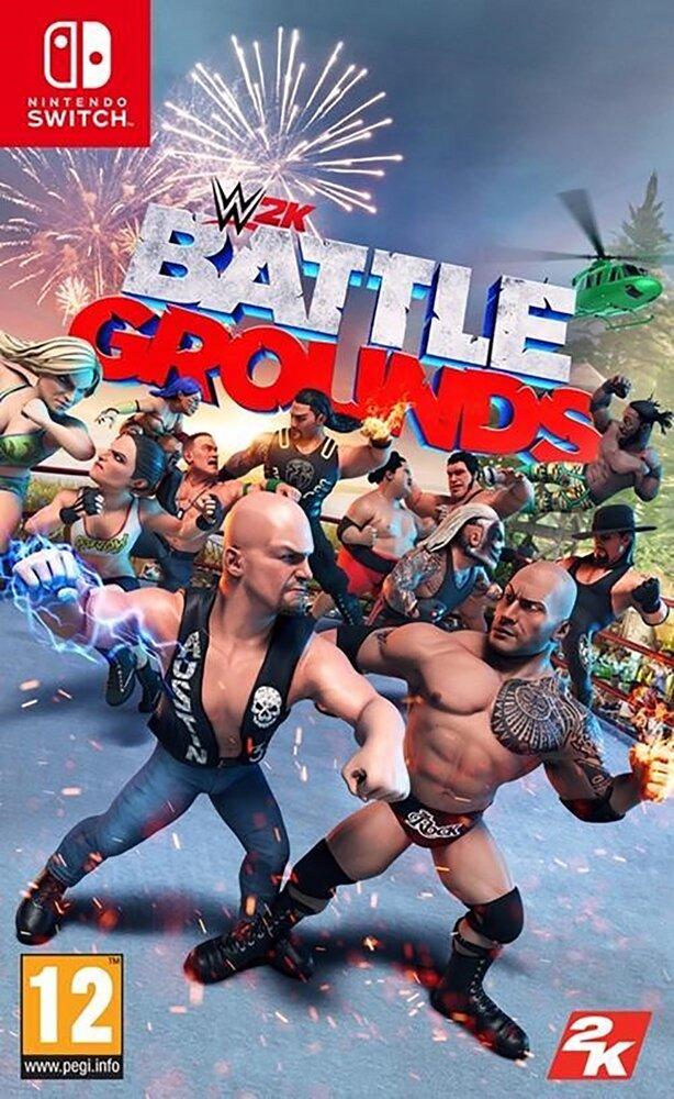 Nintendo Switch WWE W2K Battlegrounds ENG/FR