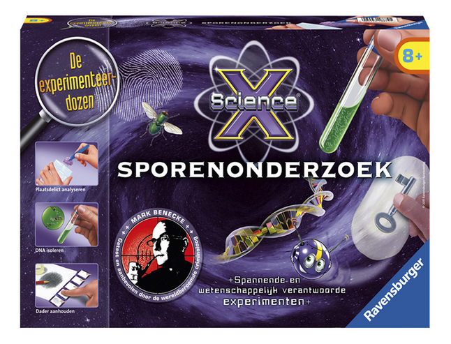 Image pour Ravensburger Science X: Sporenonderzoek NL à partir de DreamLand