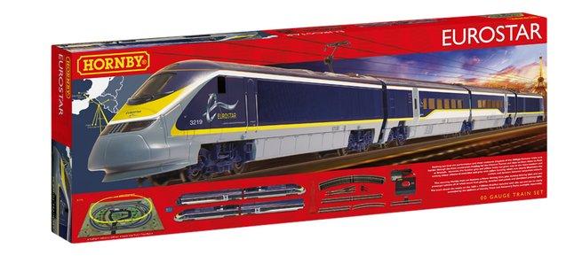 Hornby train électrique Eurostar