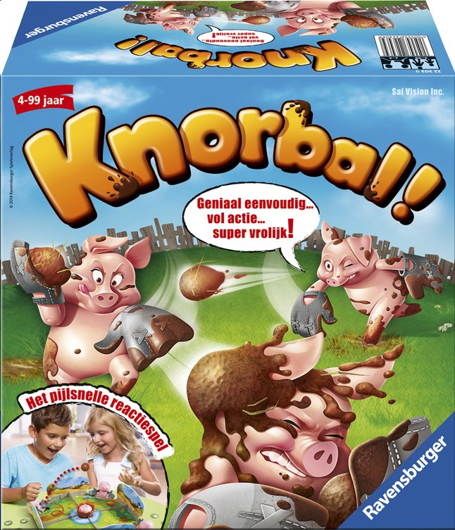 Afbeelding van Ravensburger Knorbal! from DreamLand