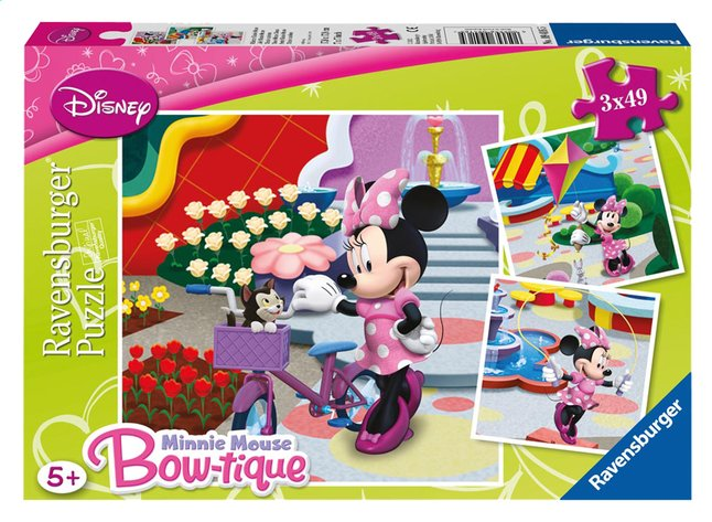 Afbeelding van Ravensburger 3-in-1 puzzel Mooie Minnie Mouse from DreamLand