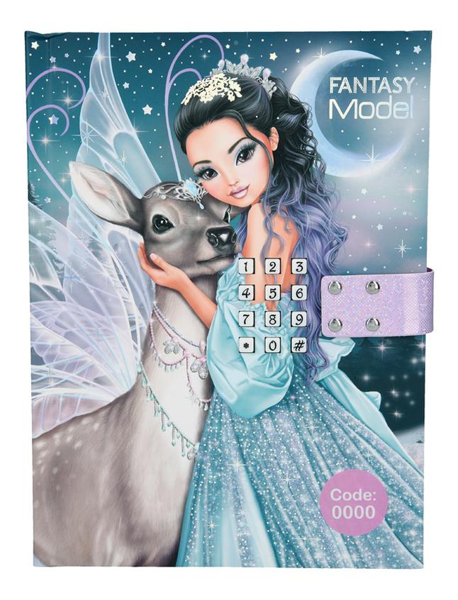 Afbeelding van Dagboek TOPModel Fantasy Model Ice Princess from DreamLand