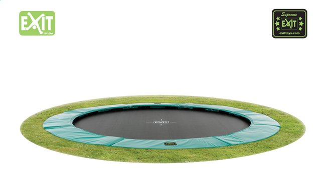 EXIT trampoline enterré Supreme Ground Ø 3,05 m