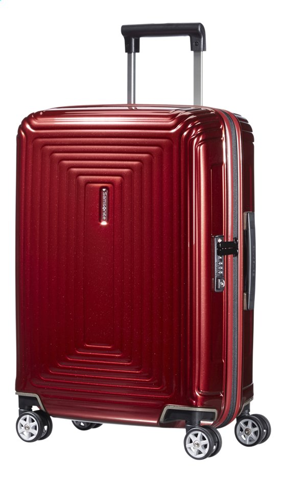 Samsonite Valise rigide Neopulse Spinner metallic red