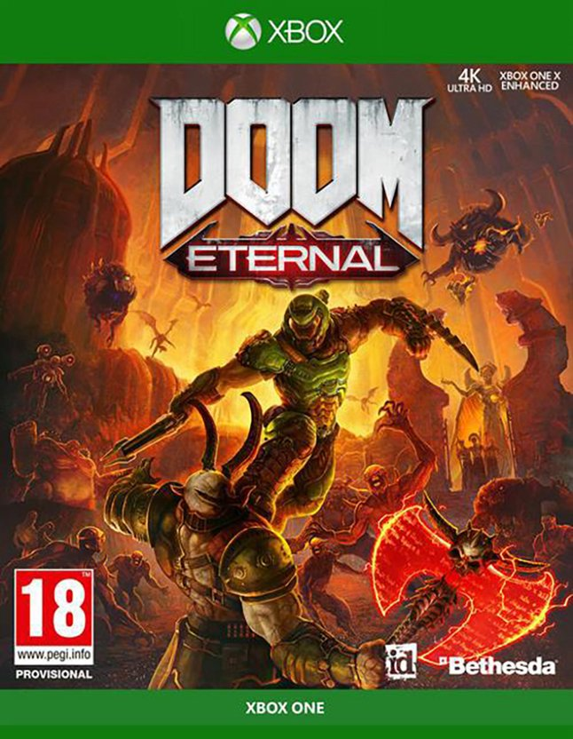 Xbox One DOOM Eternal FR/ANG